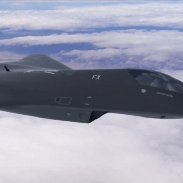 Secret revealed!  U.S. Air Force tests new 6th generation fighter 38