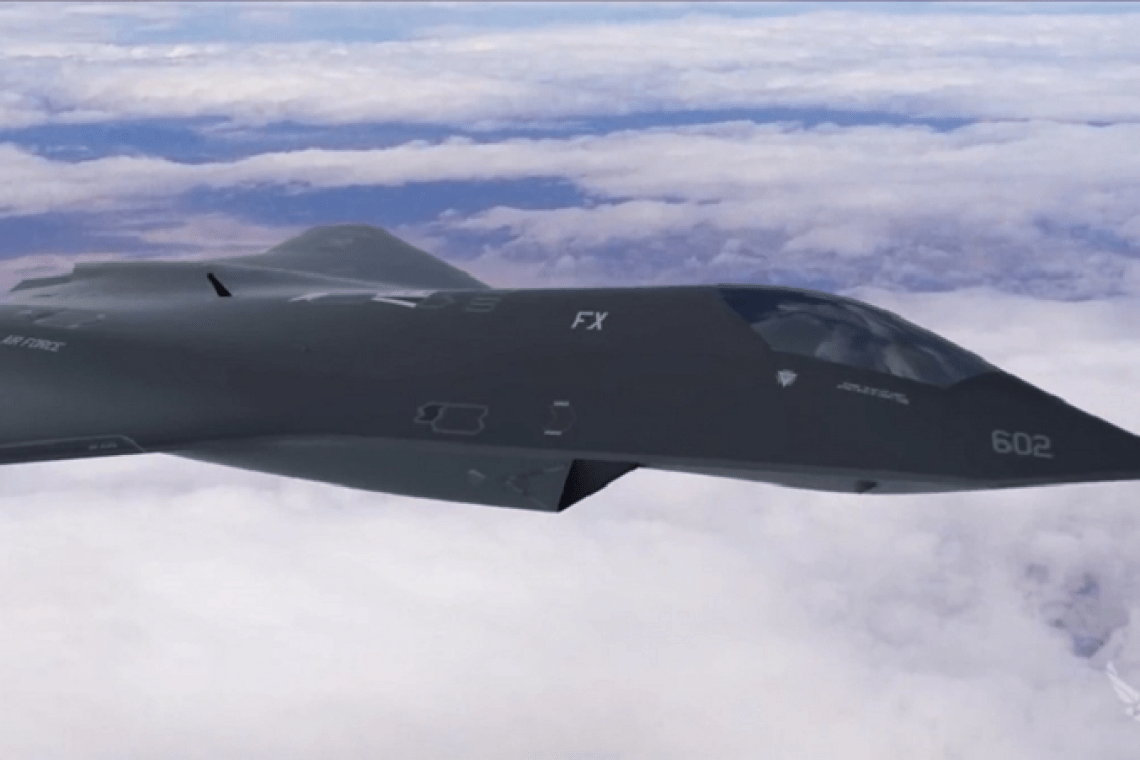 Secret revealed!  U.S. Air Force tests new 6th generation fighter 31