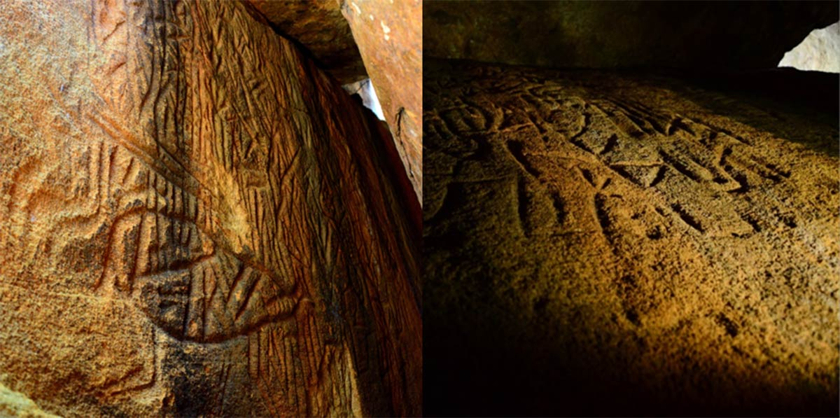 Discovered Mysterious petroglyphs containing ancient astronomical code 31