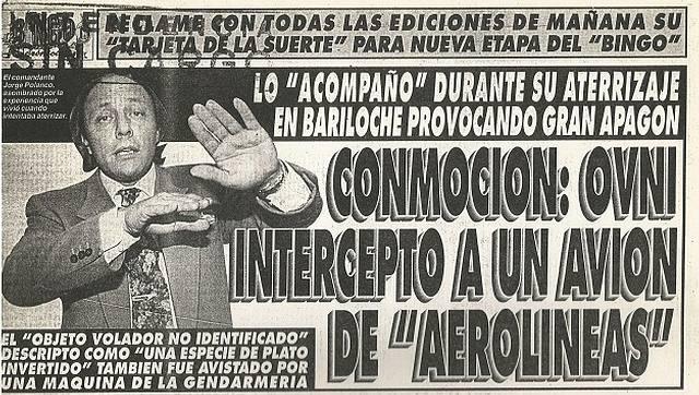 Bariloche Case: Argentine pilot reveals details about his famous encounter with a UFO 40