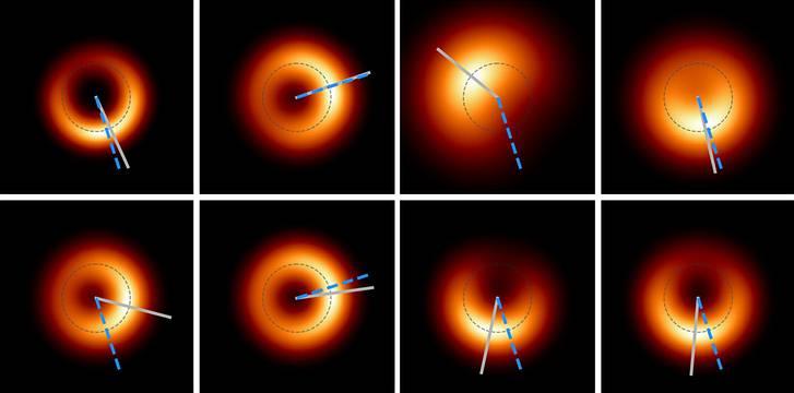 "First photographed black hole ""blinks"" like an eye 33"