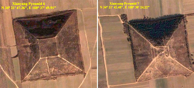 The legendary white pyramid of China, larger than the Great Pyramid of Giza 48