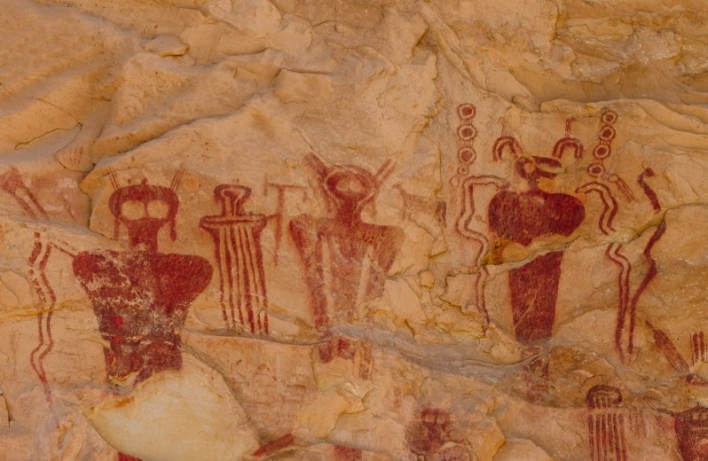 """Sego Canyon petroglyphs in Utah show """"Beings from Other Worlds"""" 37"""