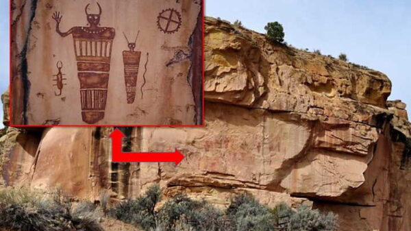 "Sego Canyon petroglyphs in Utah show ""Beings from Other Worlds"" 36"