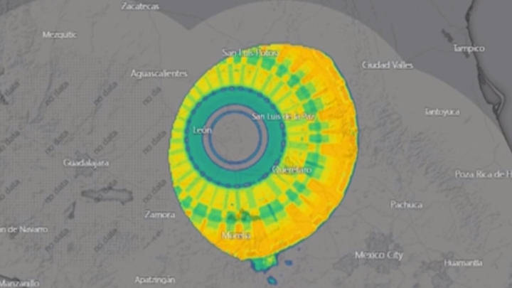 "Huge 300km diameter anomaly ""detected"" over Mexico? 34"