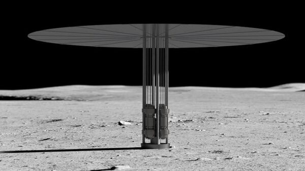 NASA's project to install a nuclear reactor on the Moon 4