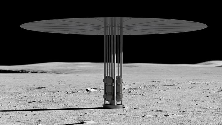 NASA's project to install a nuclear reactor on the Moon 33
