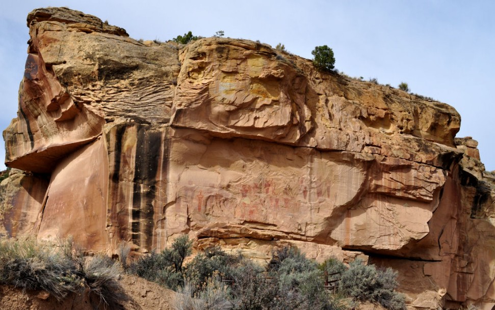 """Sego Canyon petroglyphs in Utah show """"Beings from Other Worlds"""" 36"""