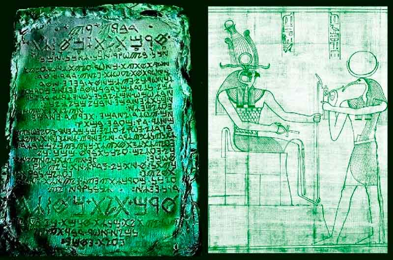 The Mystery of the Emerald Tablet Hides the Secrets of the Universe? 36
