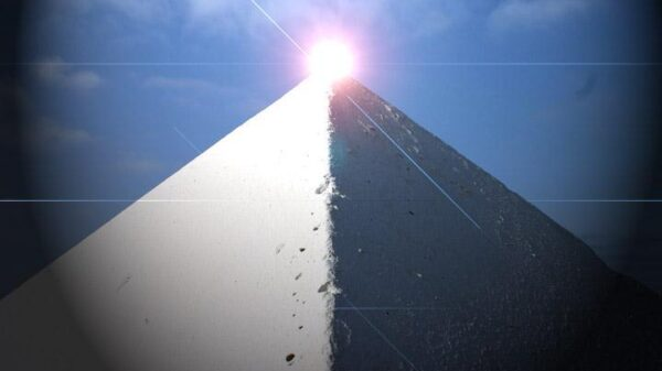 The legendary white pyramid of China, larger than the Great Pyramid of Giza 11