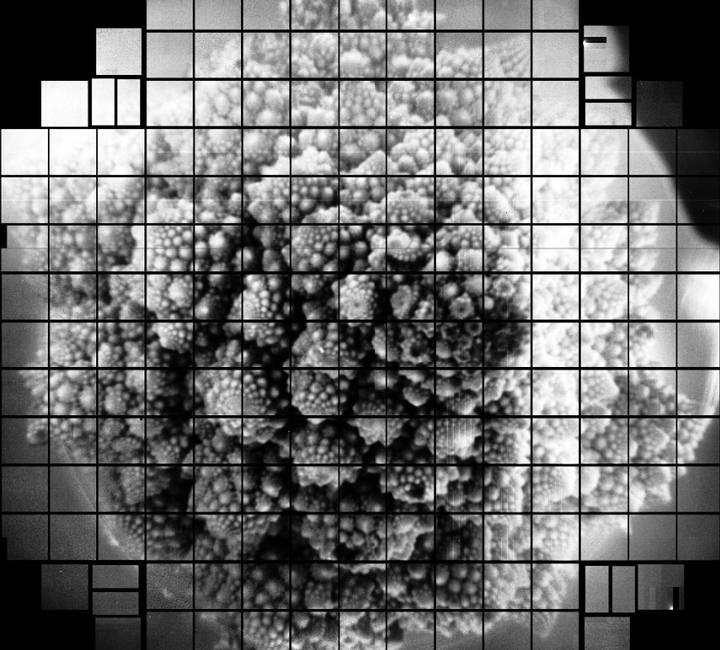 Photograph of 3,200 megapixels.
