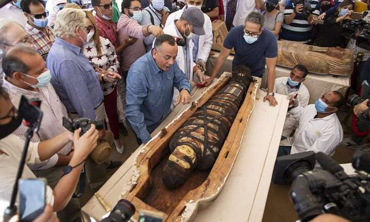 Egypt about to announce biggest archaeological find of 2020 36
