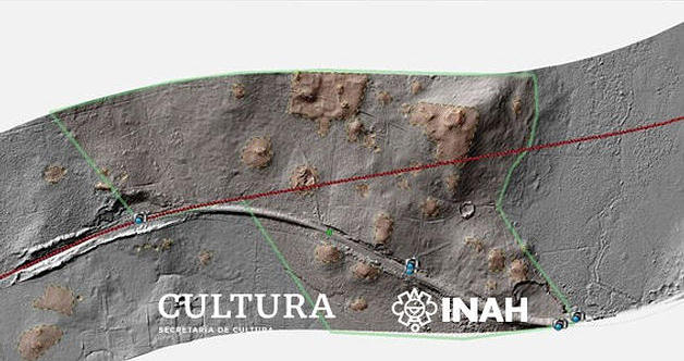 Technology confirms two hidden Mayan cities in the municipality of Candelaria, Campeche, Mexico 40