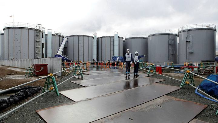 Japan will decide this month whether to expel contaminated water from Fukushima into the sea 34
