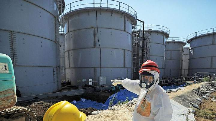 Japan will decide this month whether to expel contaminated water from Fukushima into the sea 33