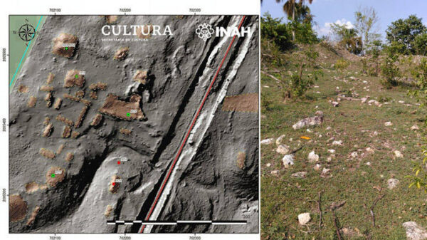 Technology confirms two hidden Mayan cities in the municipality of Candelaria, Campeche, Mexico 14