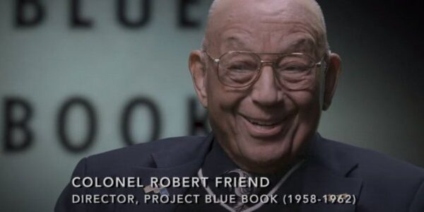 The late lieutenant colonel hinted at the purpose of Project Blue Book 32