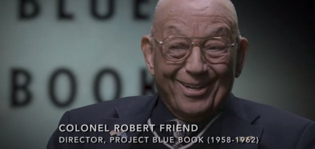 The late lieutenant colonel hinted at the purpose of Project Blue Book 31