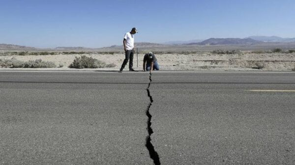San Andreas Fault: an earthquake of magnitude greater than 7 could occur within the next week 14