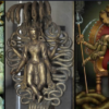 The Nagas: The mythological reptilian deities living in large underground cities 57
