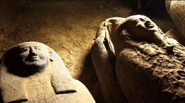 Some of the last sarcophagi unearthed at Saqqara had curses 12