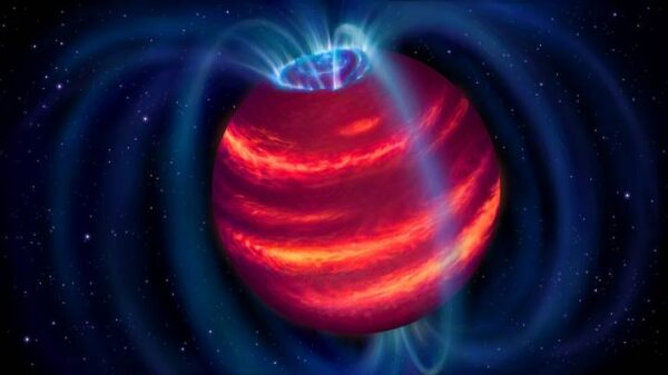 """Superplanet"" is discovered by a radio telescope for the first time 1"