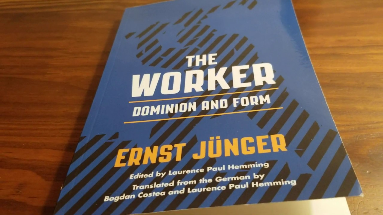 Ernst Junger: A reading from The Worker aka Der Arbeiter - YouTube