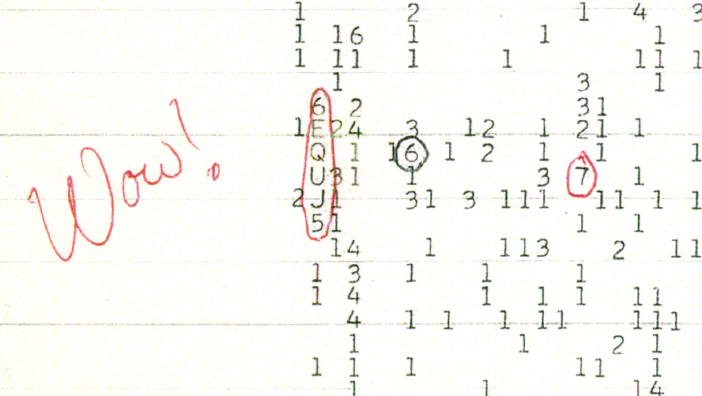 An amateur astronomer finds out the possible source of the Wow signal 34
