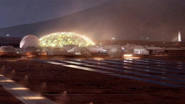 The first city of Mars will start with glass domes 50