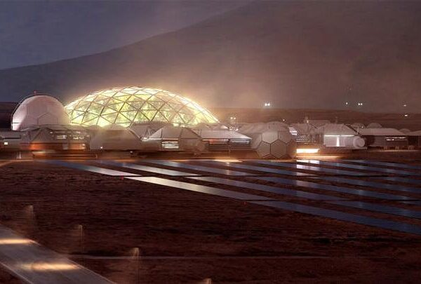 The first city of Mars will start with glass domes 39