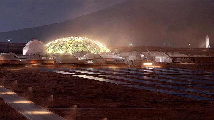 The first city of Mars will start with glass domes 31