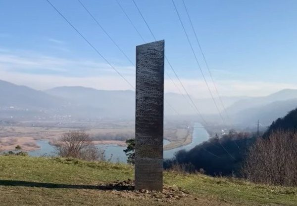 After the disappearance of the Monolith in UTAH, another Monolith appears in Romania 34