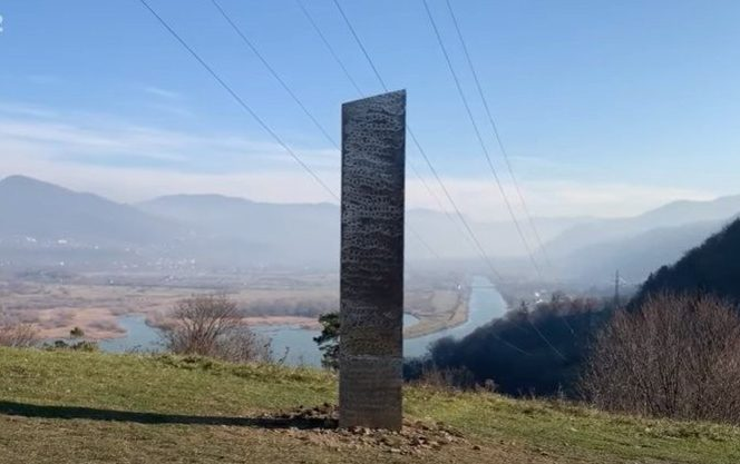 After the disappearance of the Monolith in UTAH, another Monolith appears in Romania 37