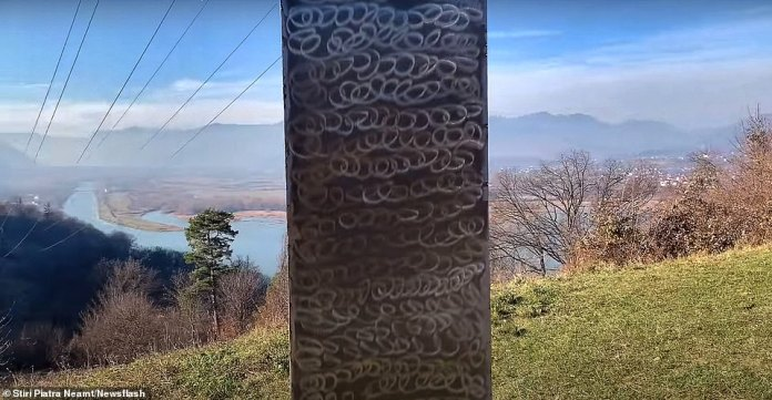 And it gives you monoliths!  One more appears, now in Romania 36