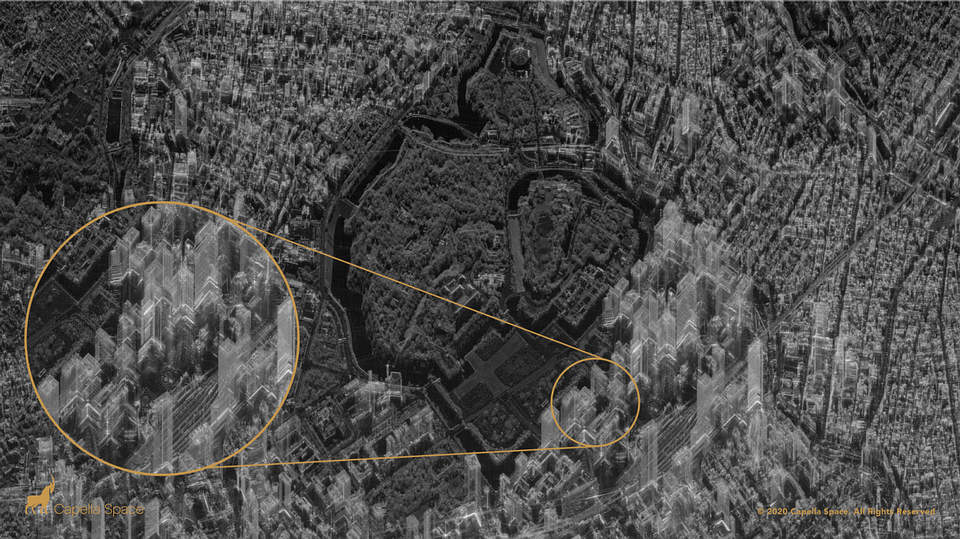 A new satellite can look inside buildings, day or night 40