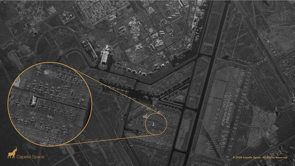 A new satellite can look inside buildings, day or night 39
