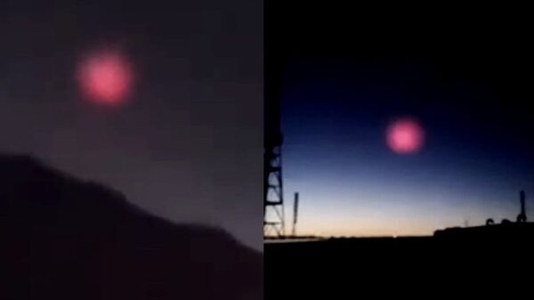 "A mysterious ""Cosmic Body"" enters the Earth's atmosphere in China and stops before impact on the ground 74"