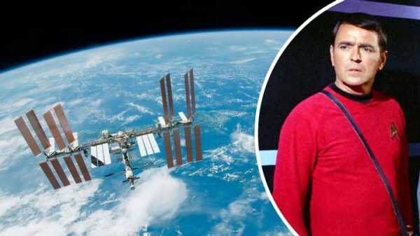 Astronaut secretly brought human remains into the International Space Station 14