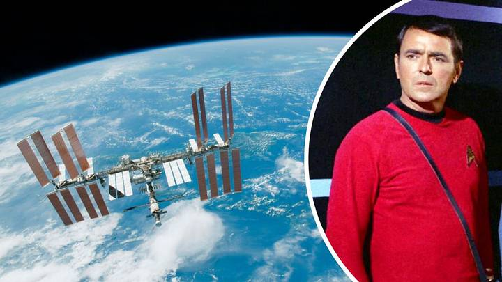 Astronaut secretly brought human remains into the International Space Station 31