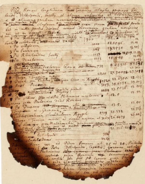 Burnt notes reveal Isaac Newton's research on the Apocalypse