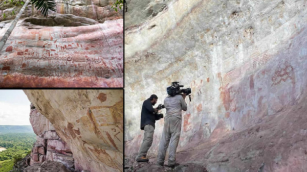 "Discovery of ""The Sistine Chapel"" of 12,500 years ago in the Amazon rainforest 6"