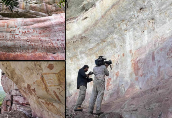 """Discovery of """"The Sistine Chapel"""" of 12,500 years ago in the Amazon rainforest 35"""