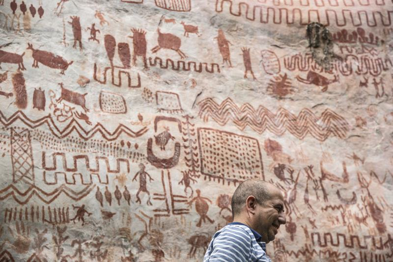 """Discovery of """"The Sistine Chapel"""" of 12,500 years ago in the Amazon rainforest 34"""