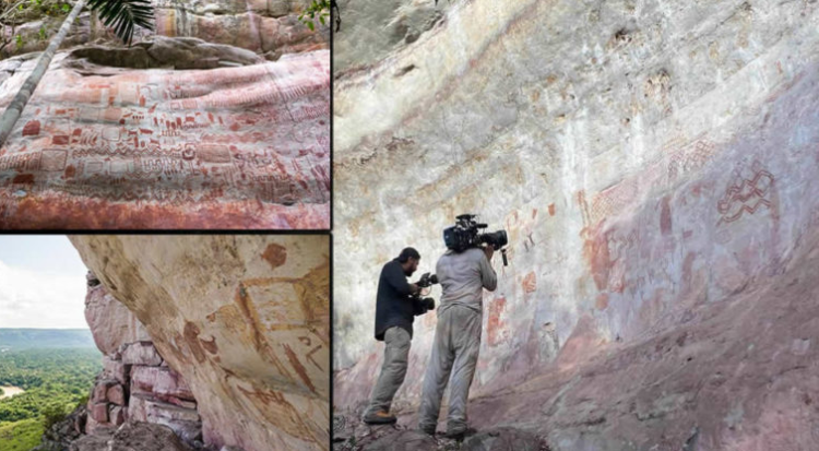 """Discovery of """"The Sistine Chapel"""" of 12,500 years ago in the Amazon rainforest 31"""