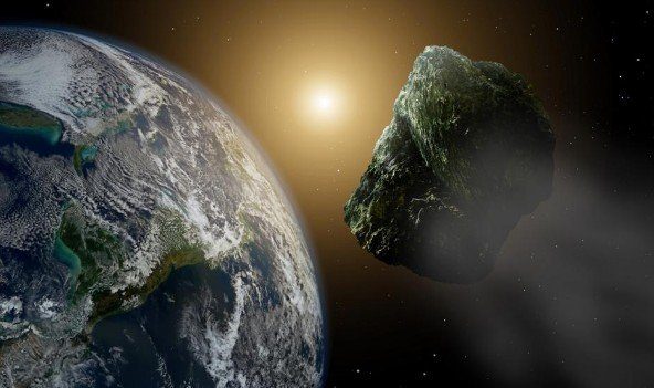 Huge potentially dangerous asteroid is approaching Earth 38