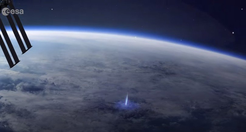 Mysterious phenomenon manifests itself in the atmosphere captured from space.  NASA and ESA have never seen anything like this 42