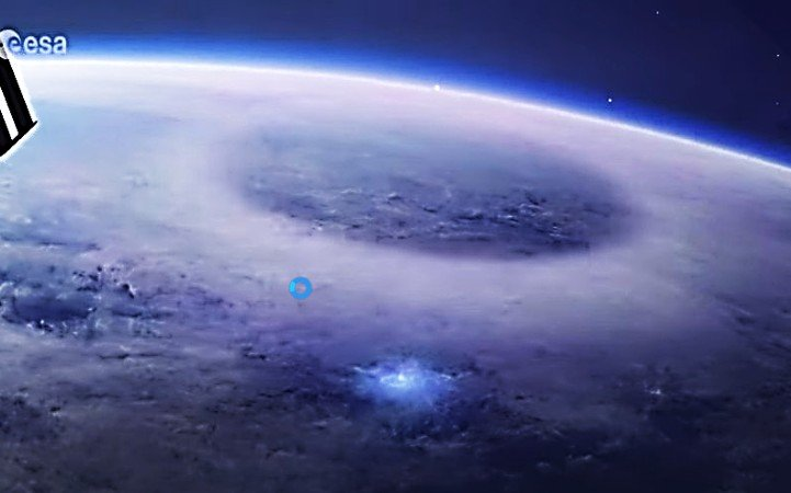 Mysterious phenomenon manifests itself in the atmosphere captured from space.  NASA and ESA have never seen anything like this 39