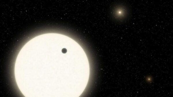 A forgotten planet is found in a triple star system 1