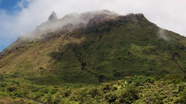 Dormant volcano in the Caribbean awakens prompting evacuation warnings 42