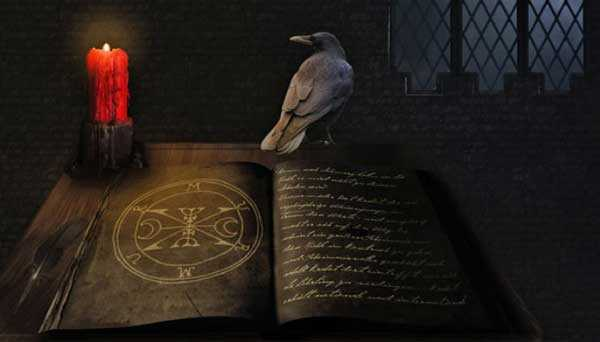 There are secret books of the Vatican with forbidden magic rituals of the ancestors